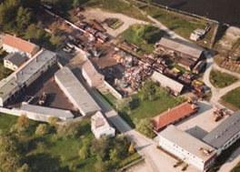 1948 | Alois Schaufler gründet in Ybbs, Angernstraße 18 ein Schrotthandelsunternehmen.
