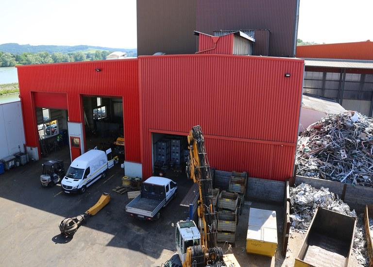 2008 | Am Standort Ybbs wird eine neue Werkstätte gebaut.