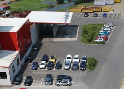 2008 | Der Standort Ybbs wird mit einer neuen Tankstelle ausgestattet.