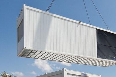 Containermontage