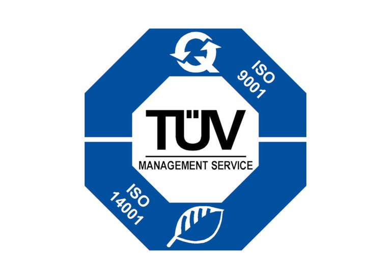 2004 | Certification according to  ISO 9001, ISO 14001 and as a specialist in waste management.