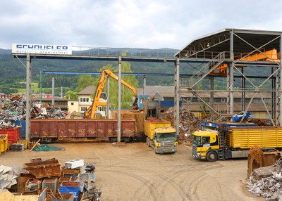 2009 | Installation of a new 1,000 tons scrap shear in Mitterdorf (now St. Barbara)